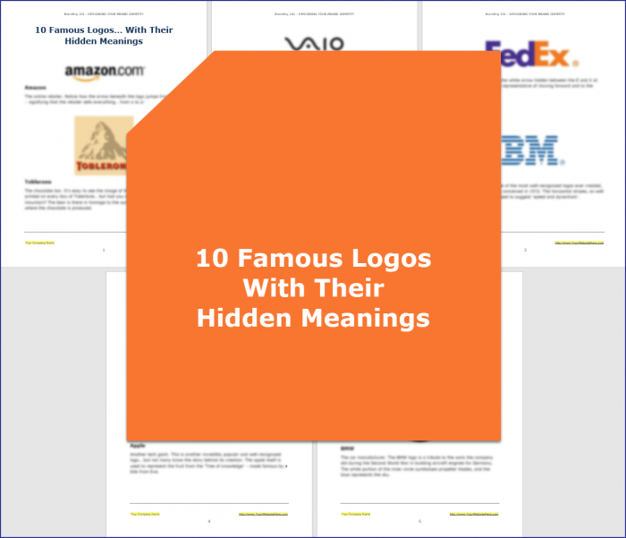 Designing Your Brand Identity - 10 Famous Logos