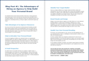 Build Your Unique Personal Brand - Opt In Blog 1