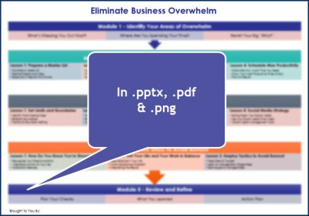 Eliminate Business Overwhelm - Overview Infographic