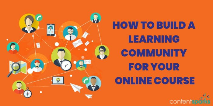 Build a Learning Community for Your Online Course | Content