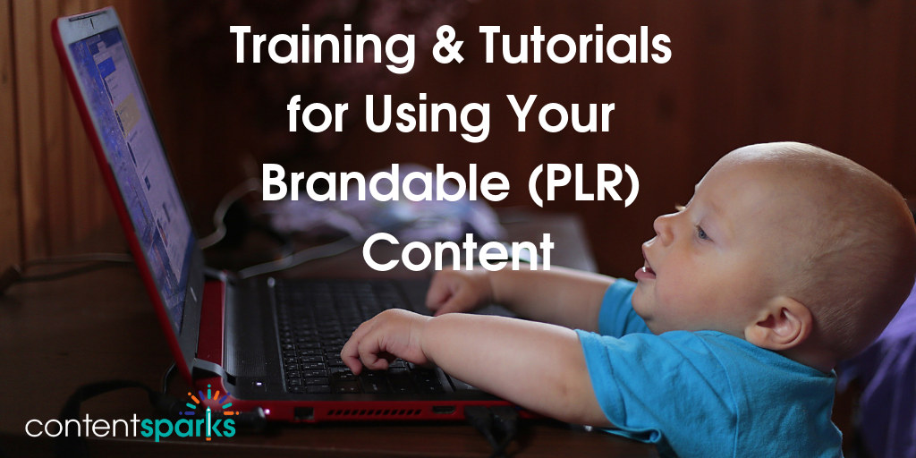 Content Sparks Training and Tutorials
