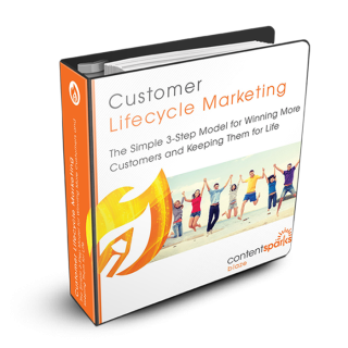 Content Sparks course - Customer Lifecycle Marketing