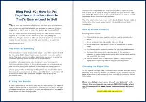 Fast Cash Strategies - Blog Post 2