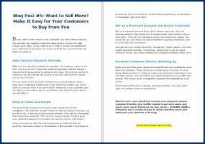 Fast Cash Strategies - Blog Post 5