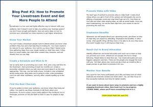 Live Video Marketing - Blog Post 2