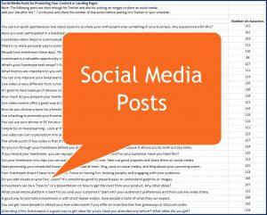Live Video Marketing - Social Posts