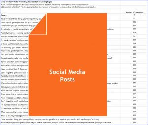 How to Attract Free Publicity - Social Media Posts