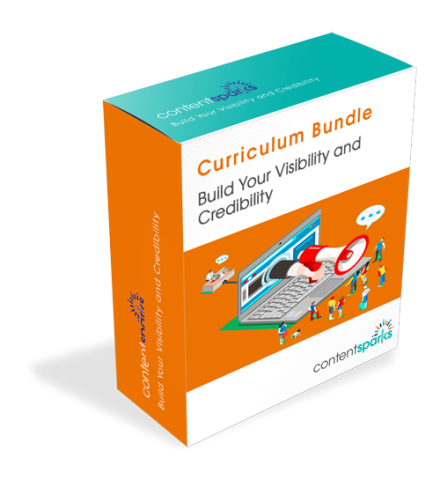 Suggested Curriculum – Build Your Visibility and Credibility