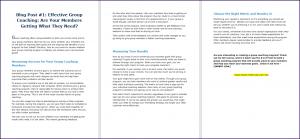 Create Your Group Coaching Program - Blog Post 1