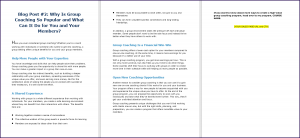 Create Your Group Coaching Program - Blog Post 2