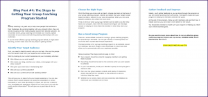 Create Your Group Coaching Program - Blog Post 4