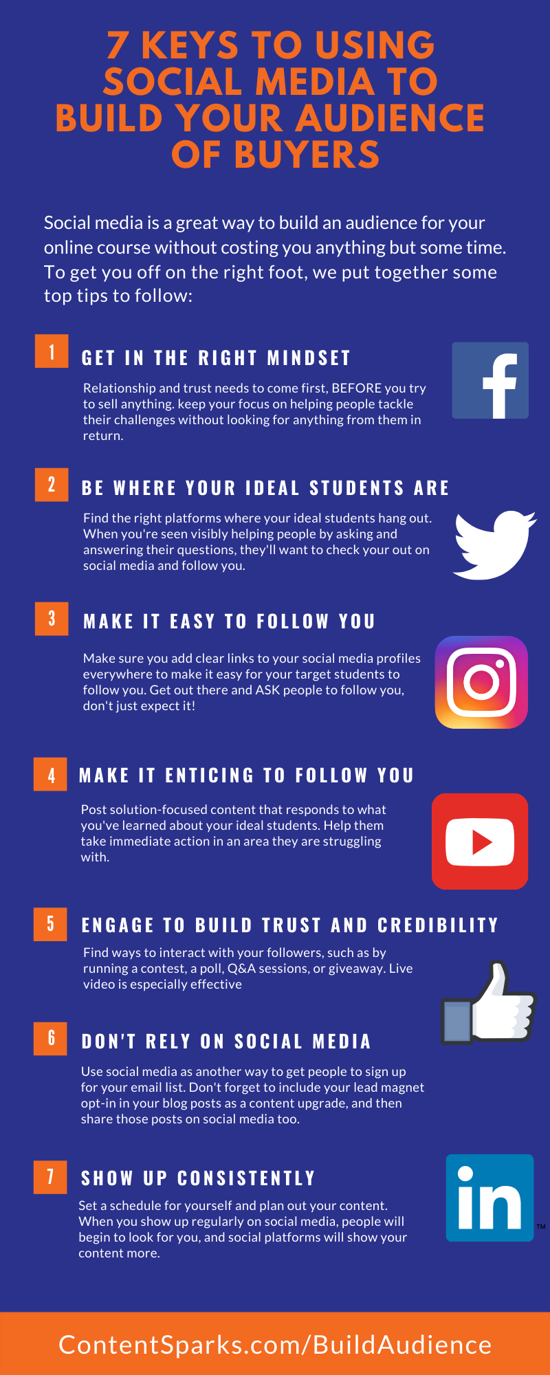 Keys to Using Social Media to Build Your Audience