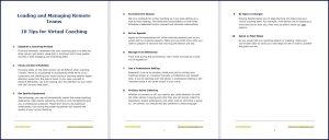 Virtual Coaching - 10 Tips
