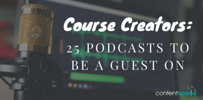 Blog - 25 Podcasts to Be a Guest On