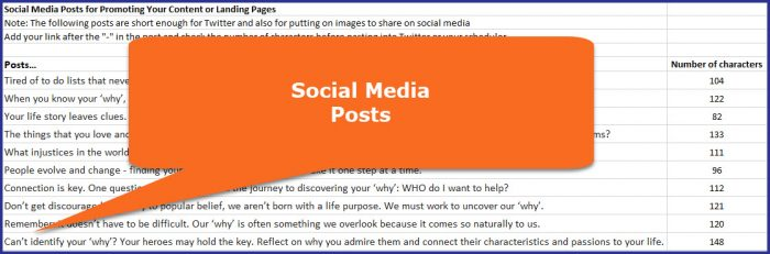 Know Your Why - Social Media Posts