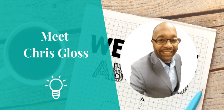 Blog Featured Image - Meet Chris Gloss