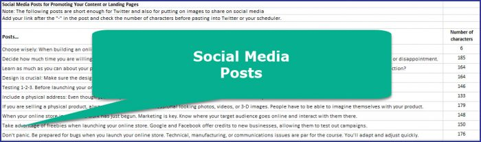 How to Start an Online Store - Social Media Posts