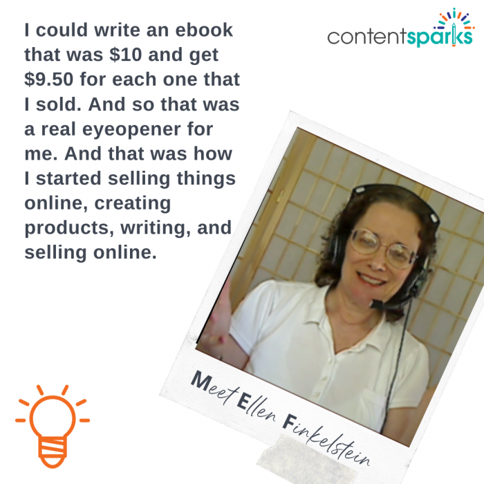 use online course content to write an ebook