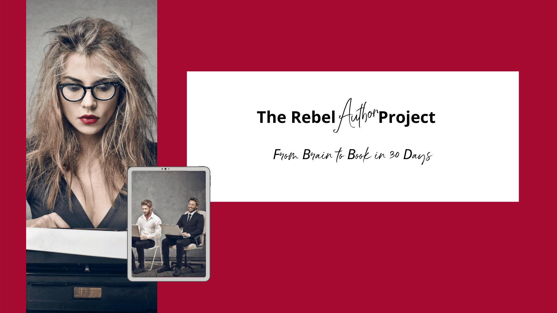 Rebel Author Branding