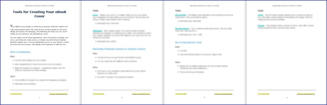 eBook Cover Tools