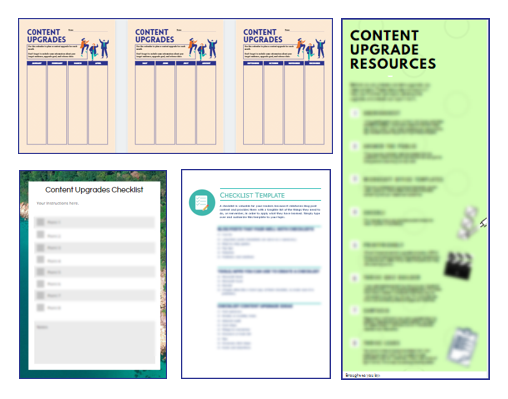 Attract Quality Leads with Content Upgrades Bonus Templates