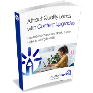 Attract quality leads with content upgrades