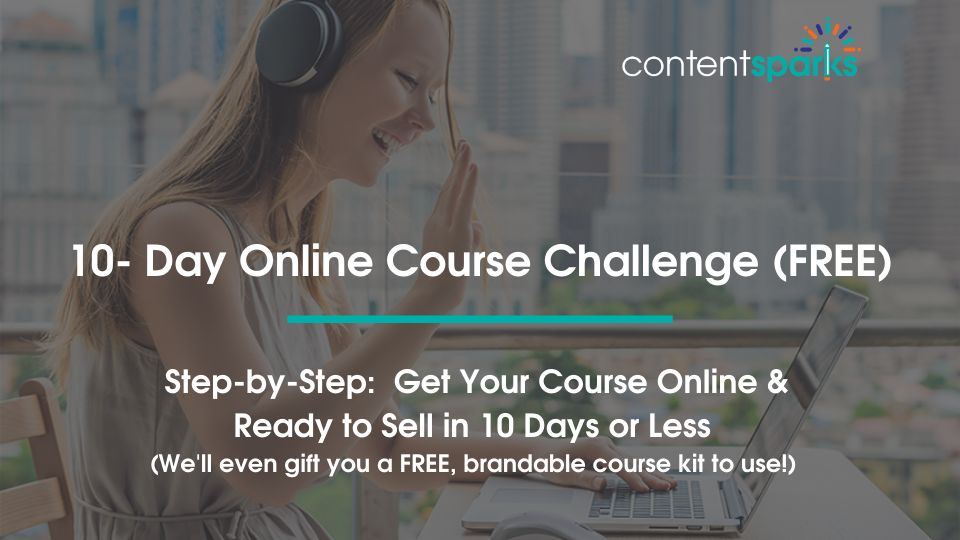Get your course online in 10 days