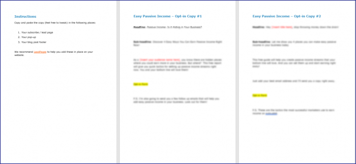 EasyPassive Income Upgrade Pack Opt In Copy 1