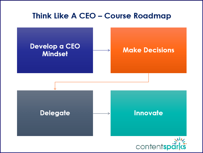 Think Like A CEO Course Roadmap Branded