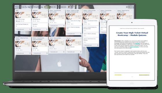 VirtualBootcampUpgrade SalesPageCollage