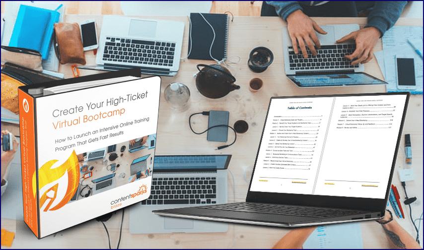 VirtualBootcamps SalesPageCollage