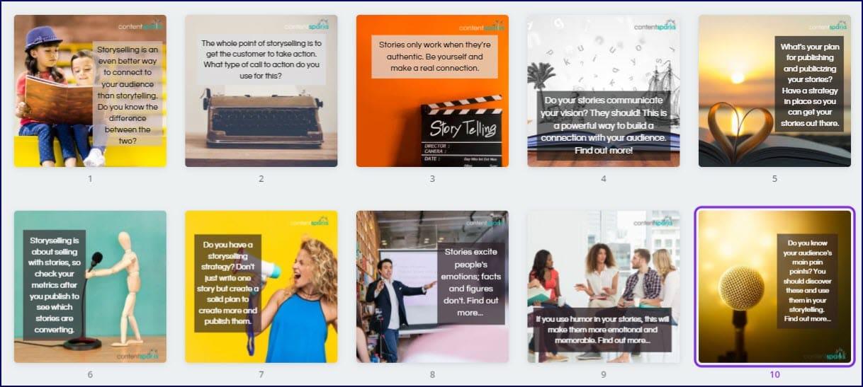 The Art of Storyselling Upgrade Pack Bonus Images