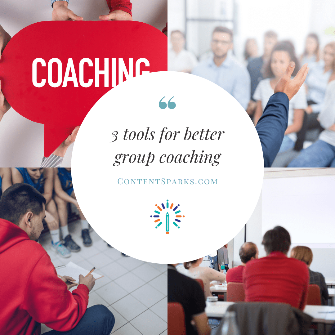 3 tools for better group coaching